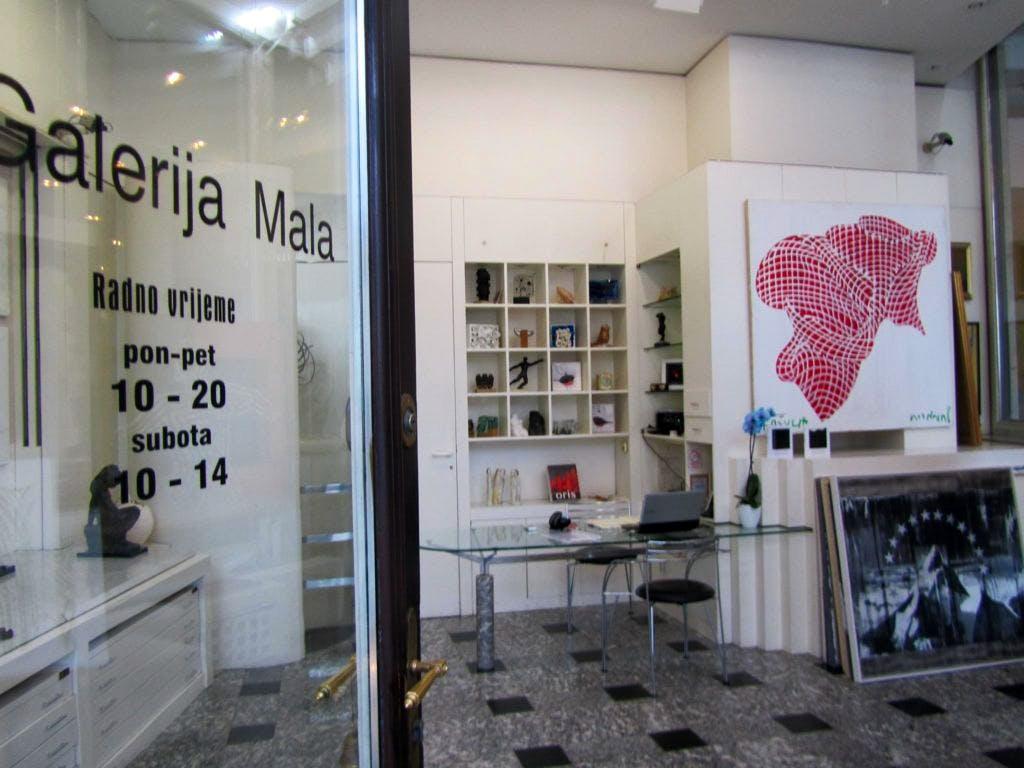 galerija mala, gallery, art, exhibition, artwork, ban jelacic square, sotheby''s