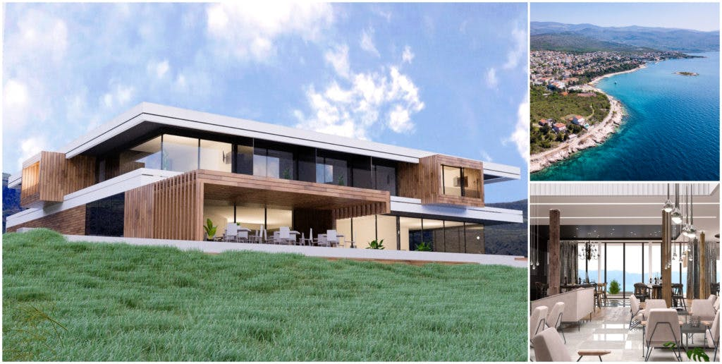 villa croatia, project croatia, tourist investements in croatia