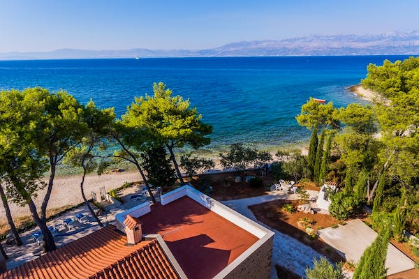 Sea view from the villa