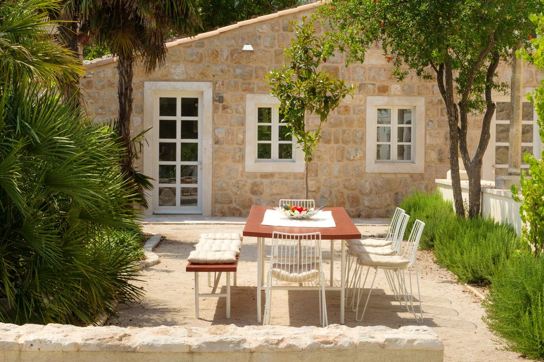 A place to soak up the Sun while enjoying a meal or drinks