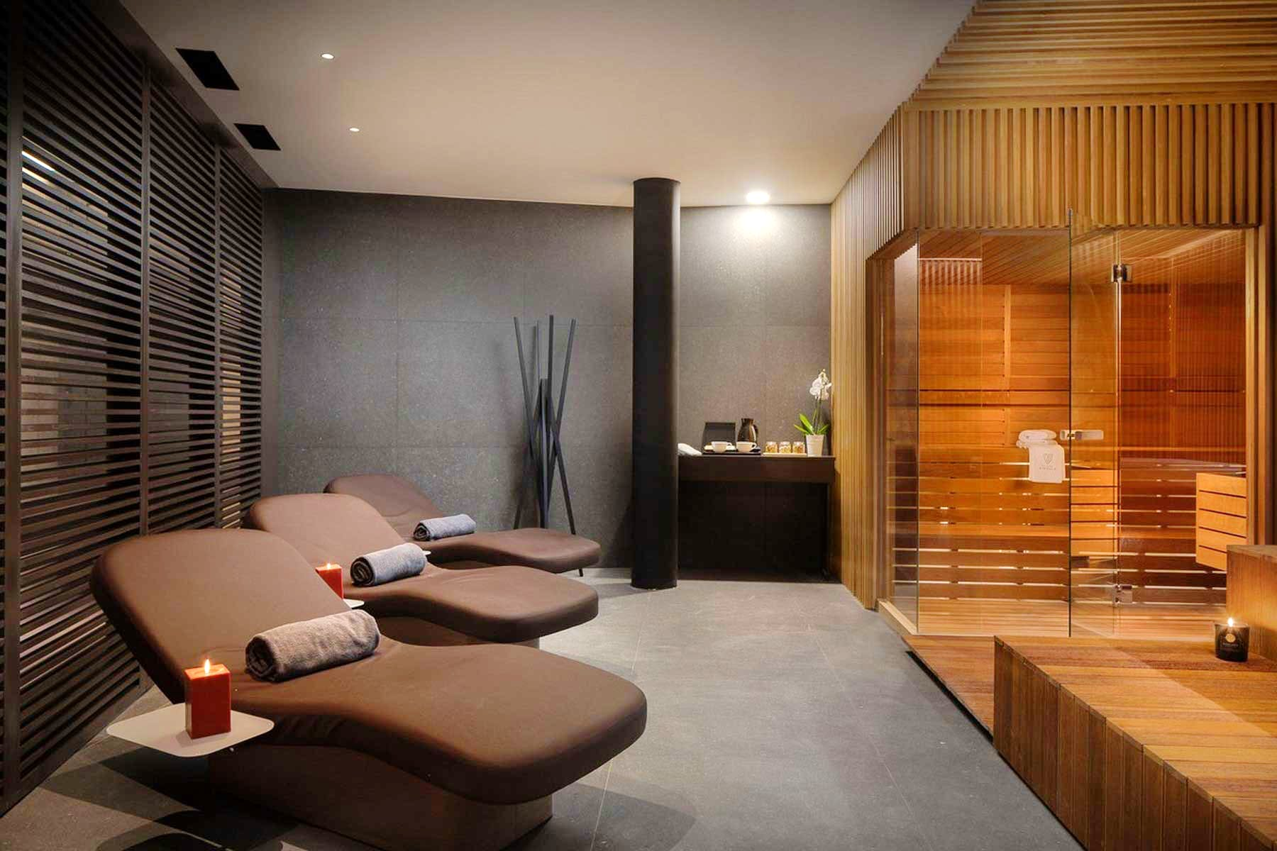 In-house wellness area