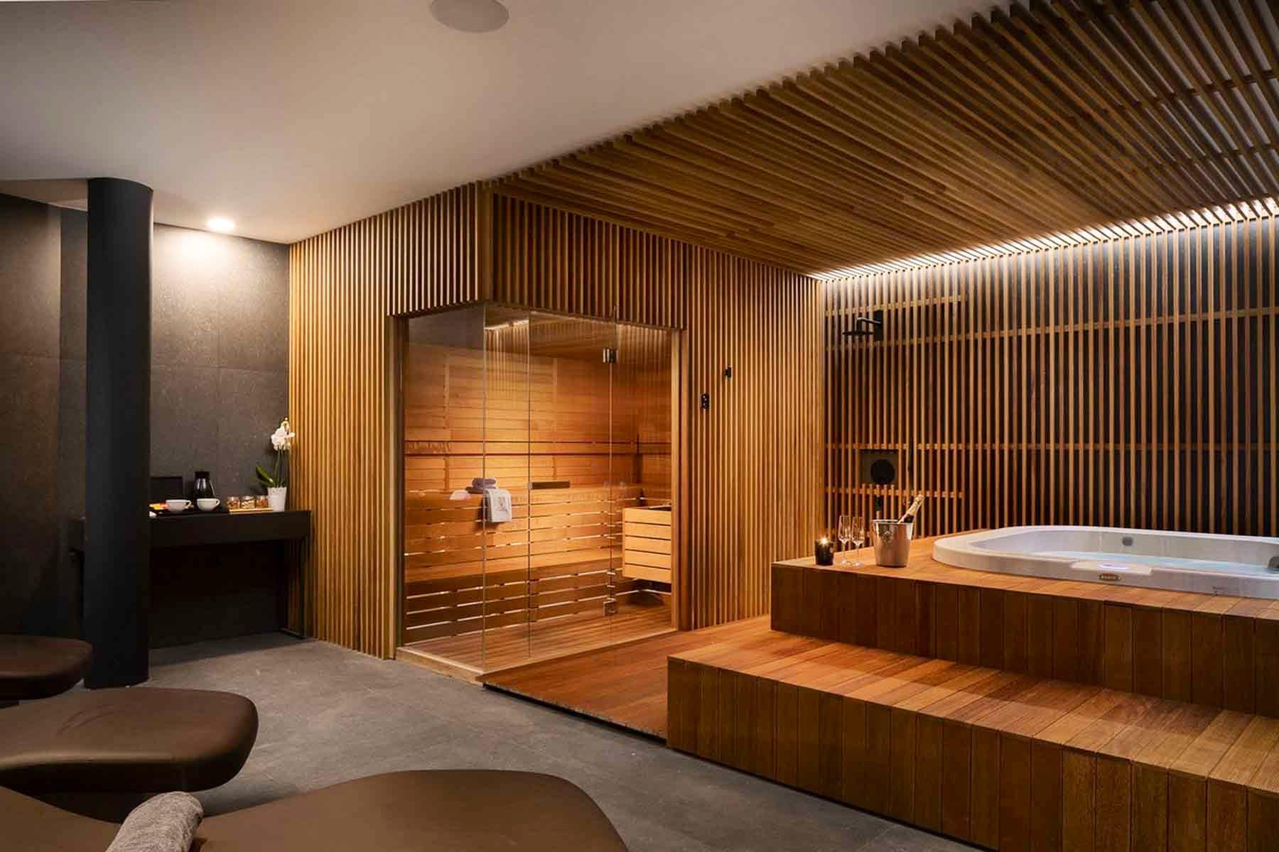 In-house sauna