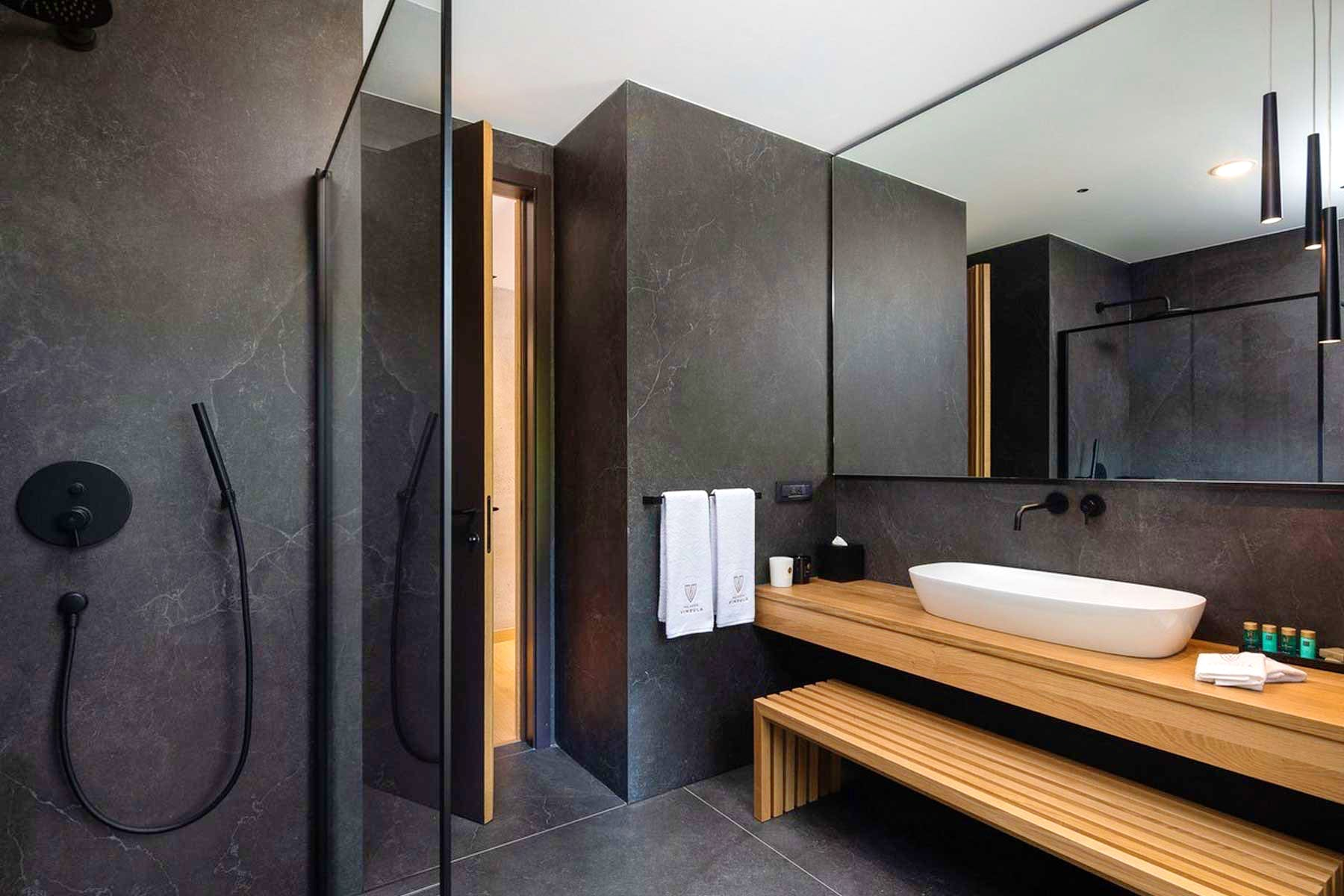 Modernly equiped bathroom