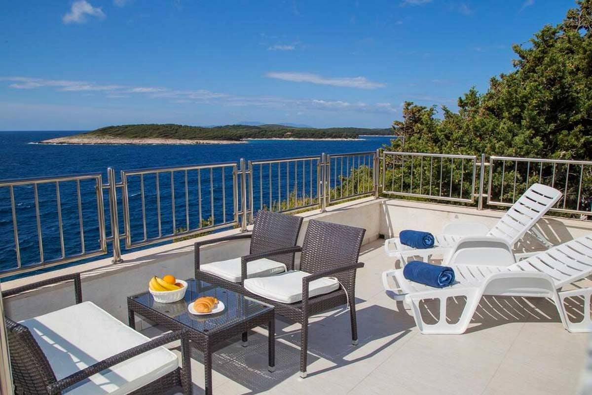 Villa's terrace