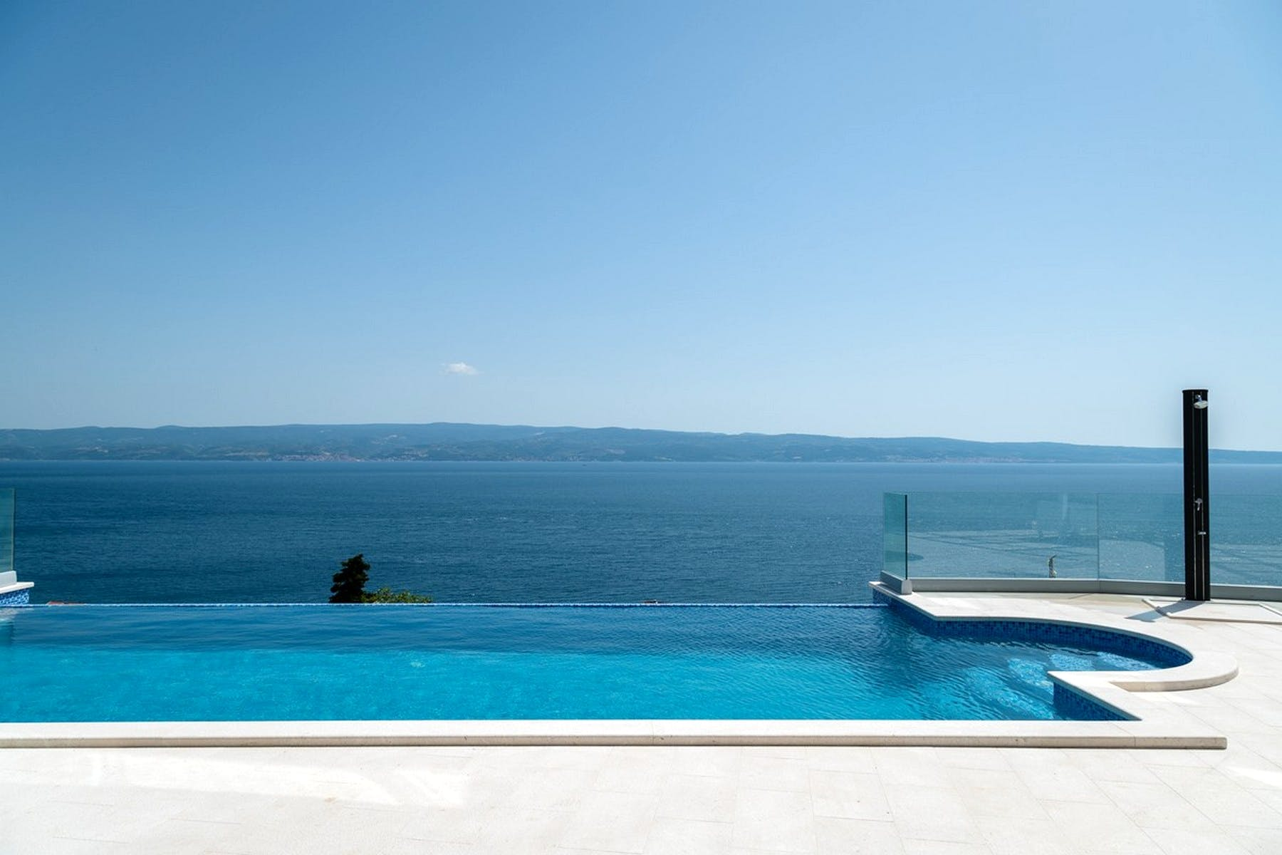 Seaview from the pool