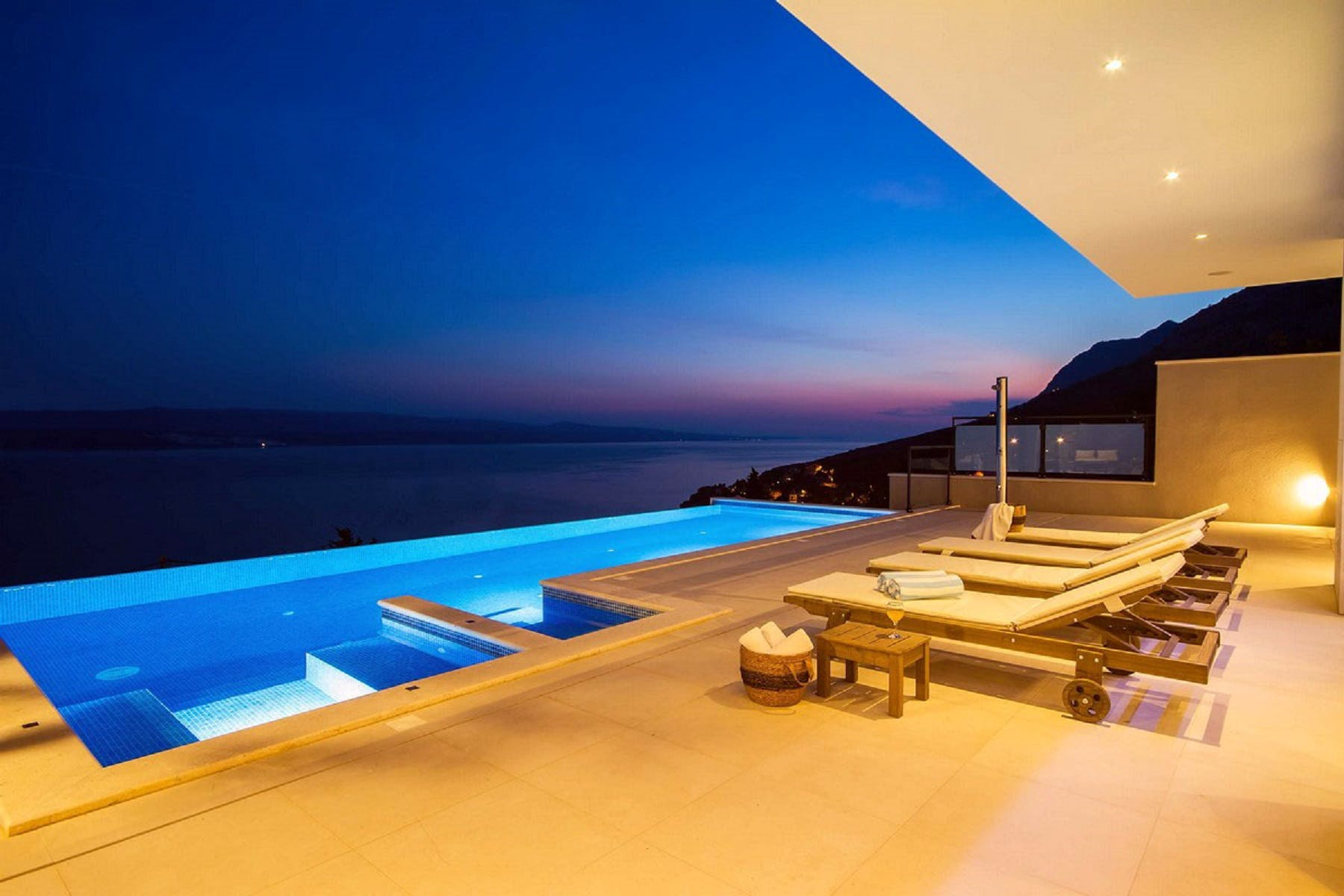 Ideal place for relaxation in the evening