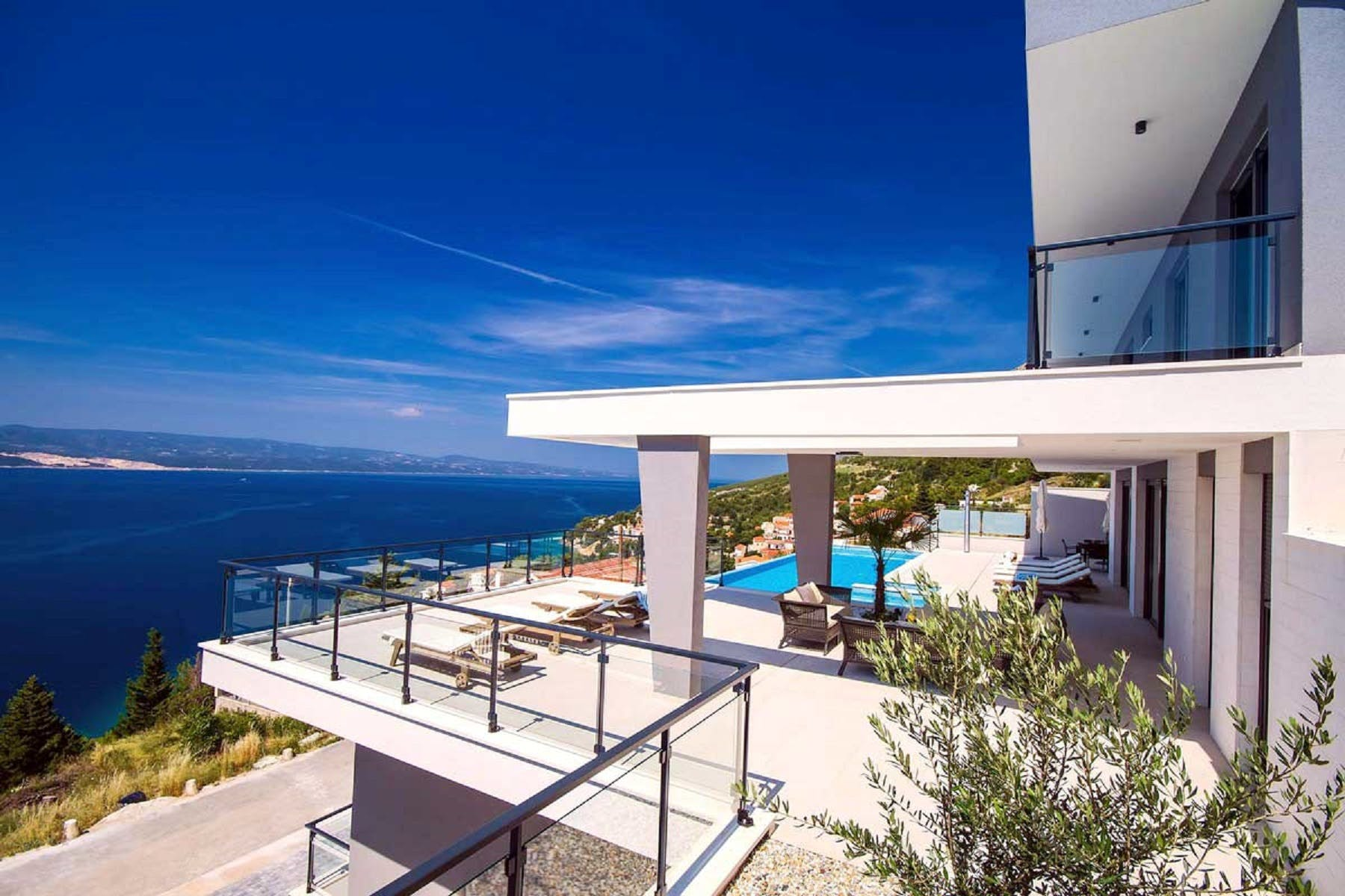 Terrace with an amazing seaview