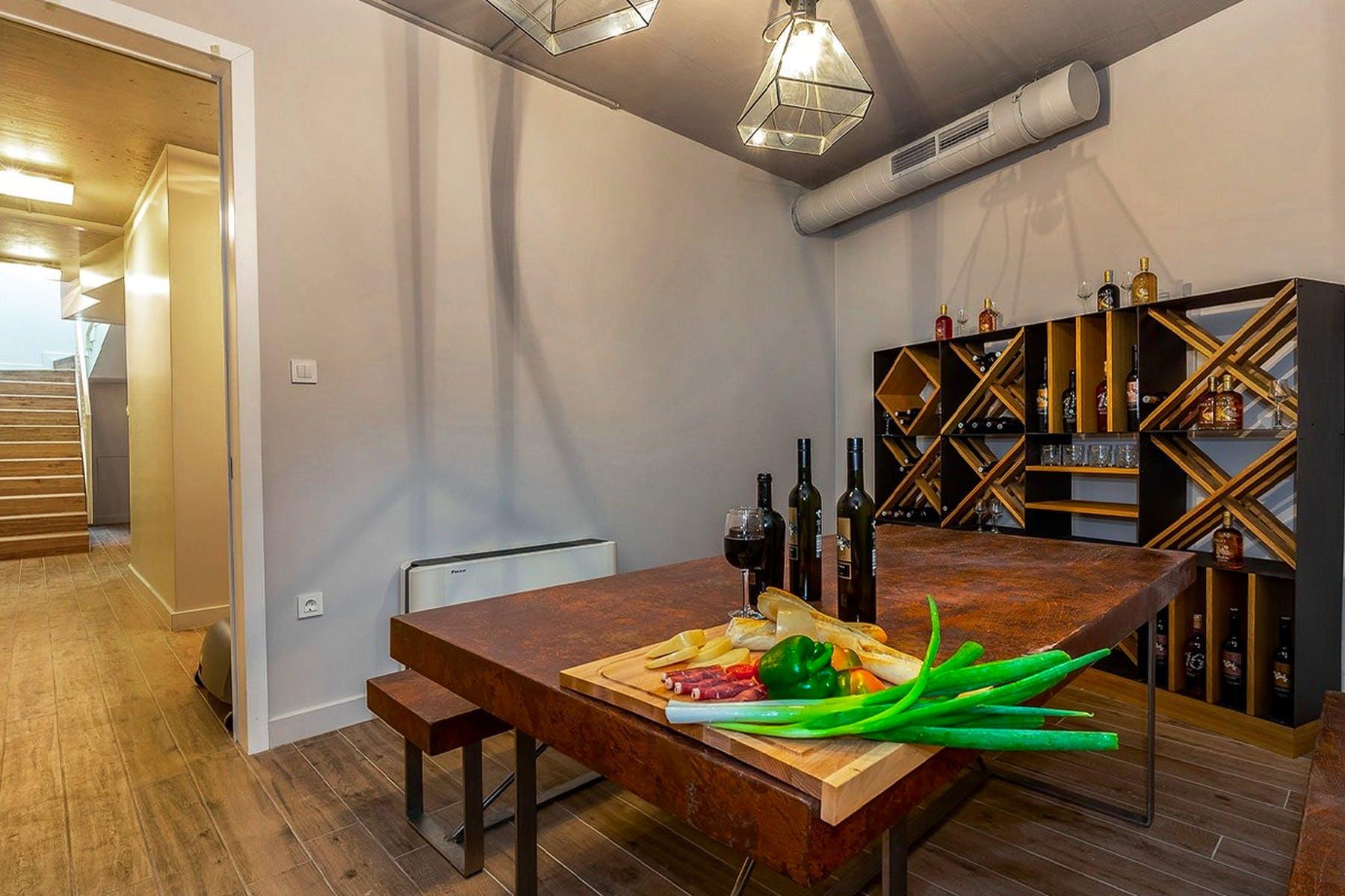 Vinski podrum u sklopu vile