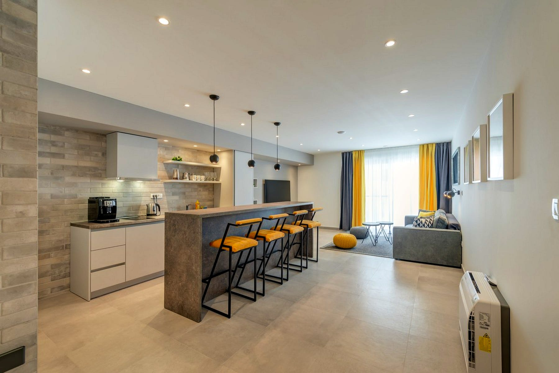 Cooking and dining area ideal for social gatherings
