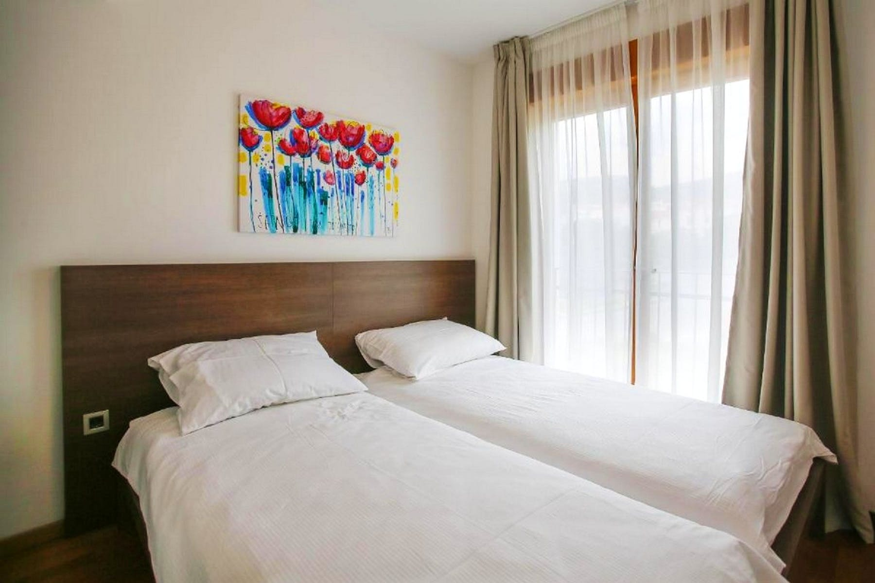 Bright and comfortable double bedroom