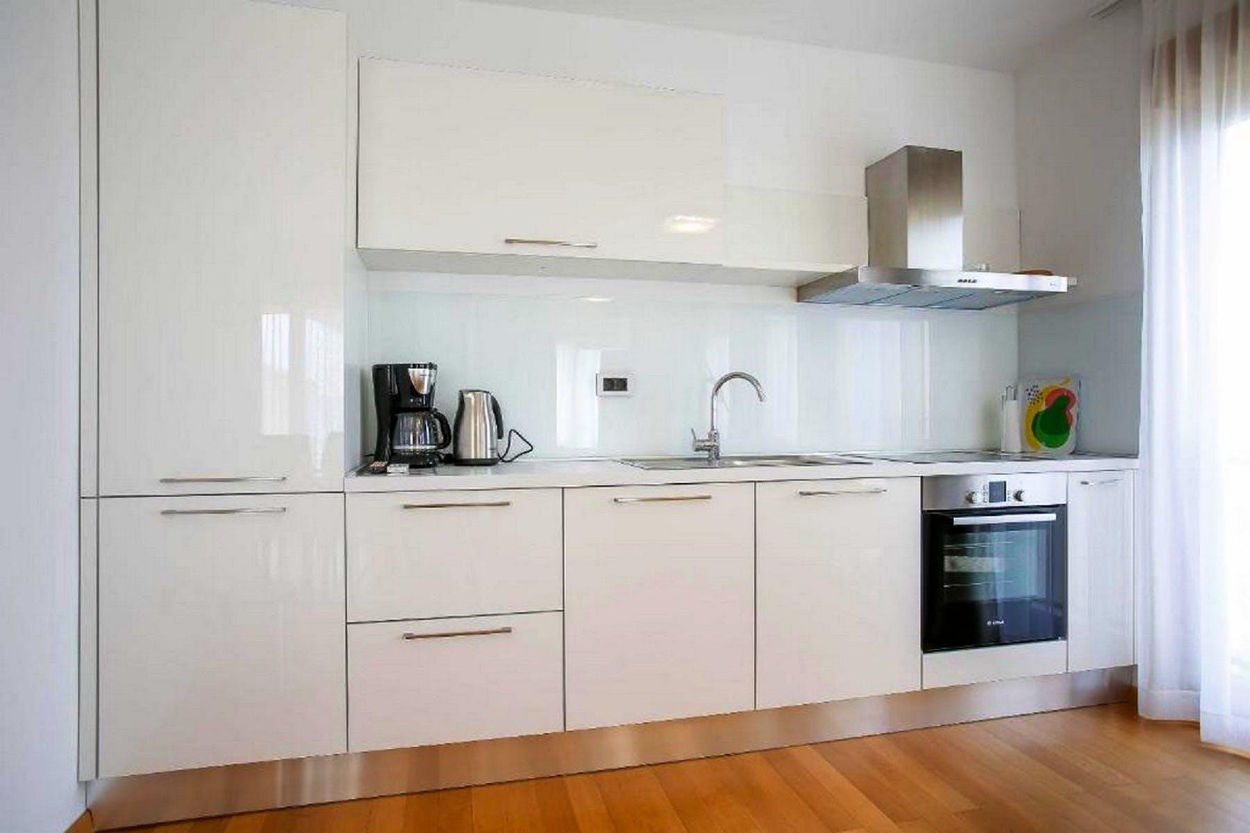 Modernly designed kitchen