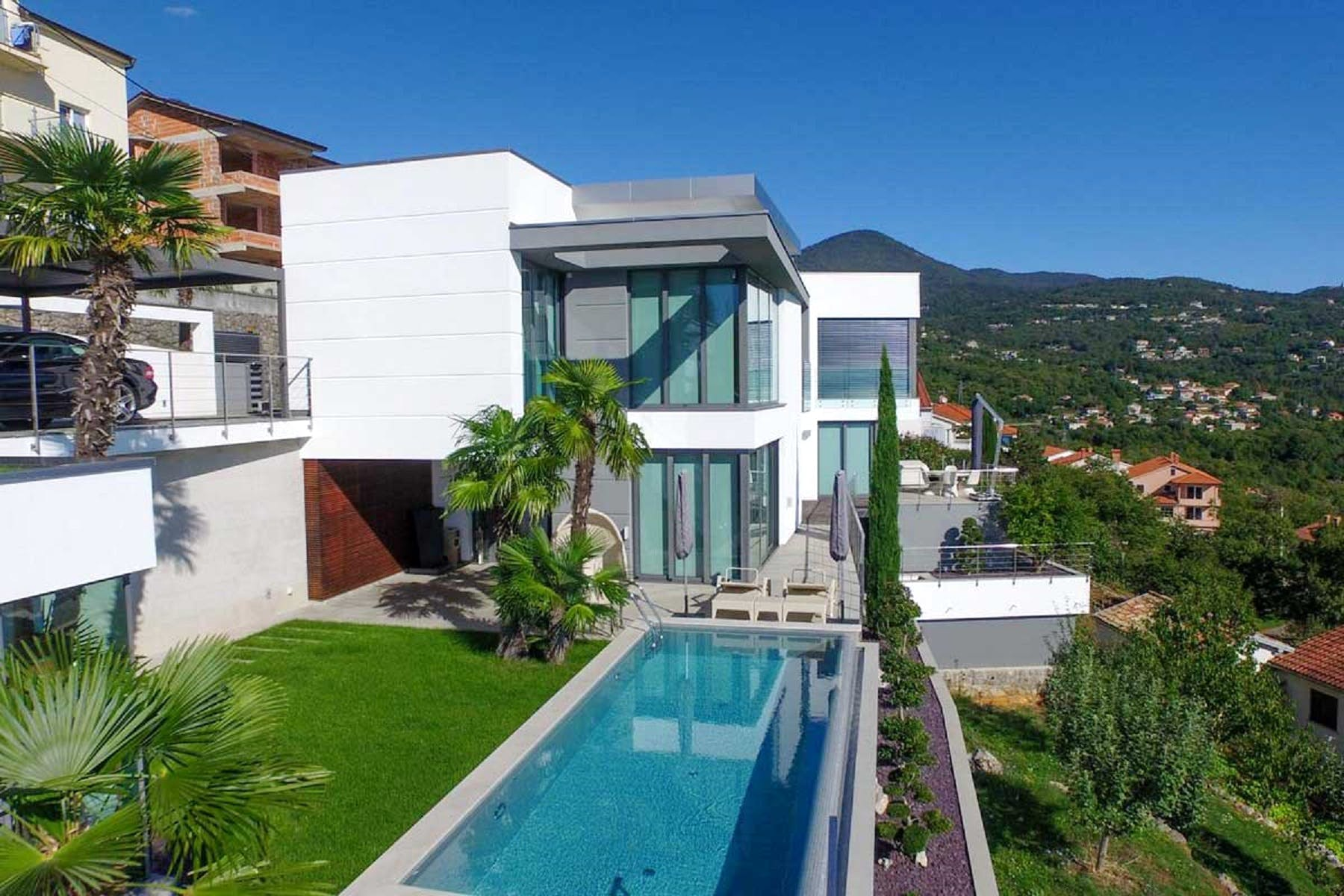 Property is enriched with a private pool