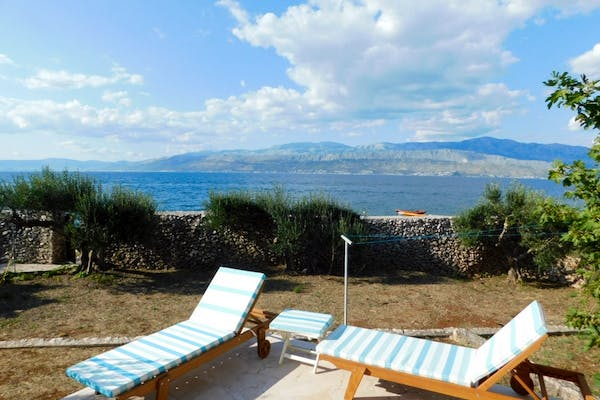 A place to enjoy the sunlight in the privacy of your holiday home