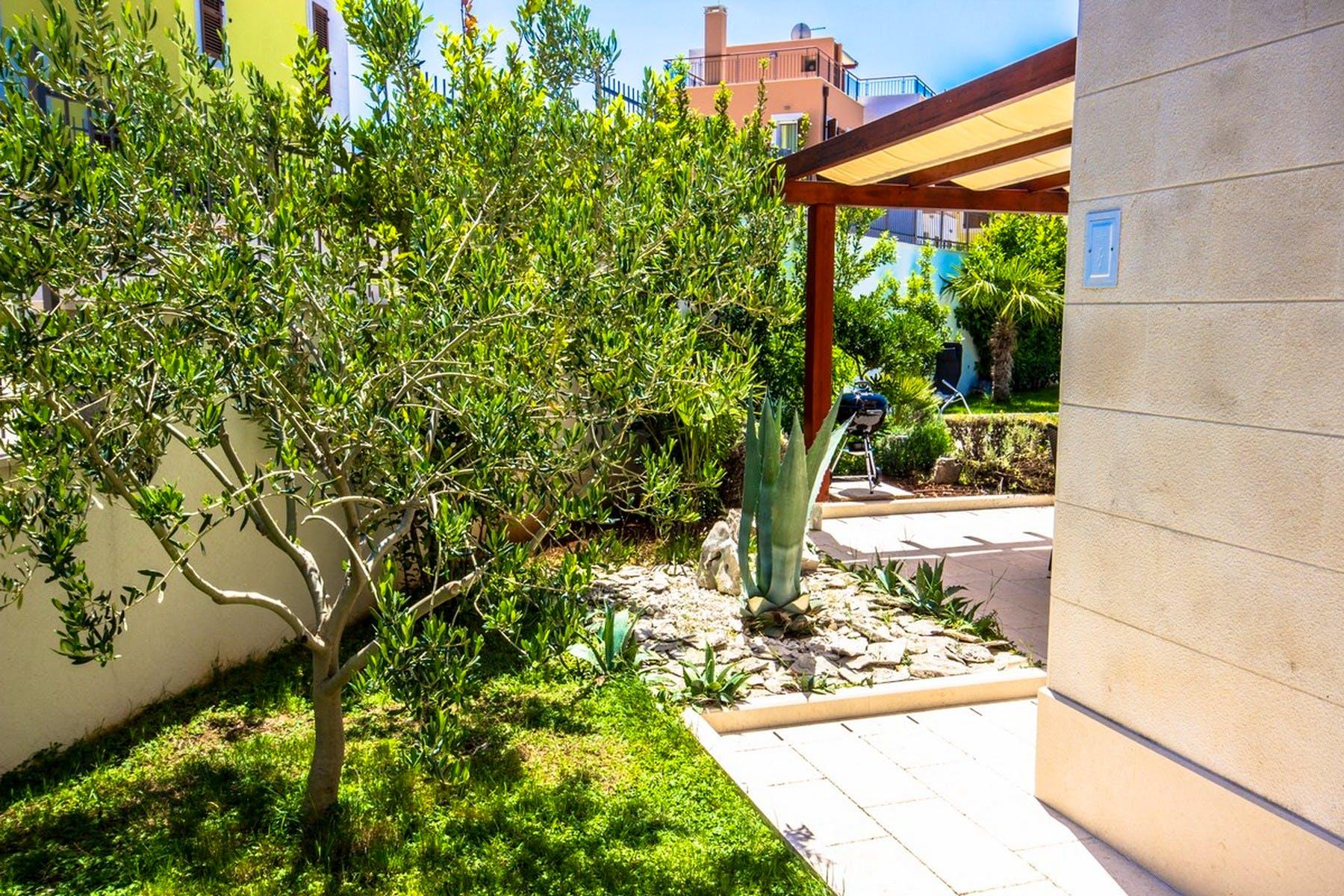 Beautiful gardens surrounding the villa