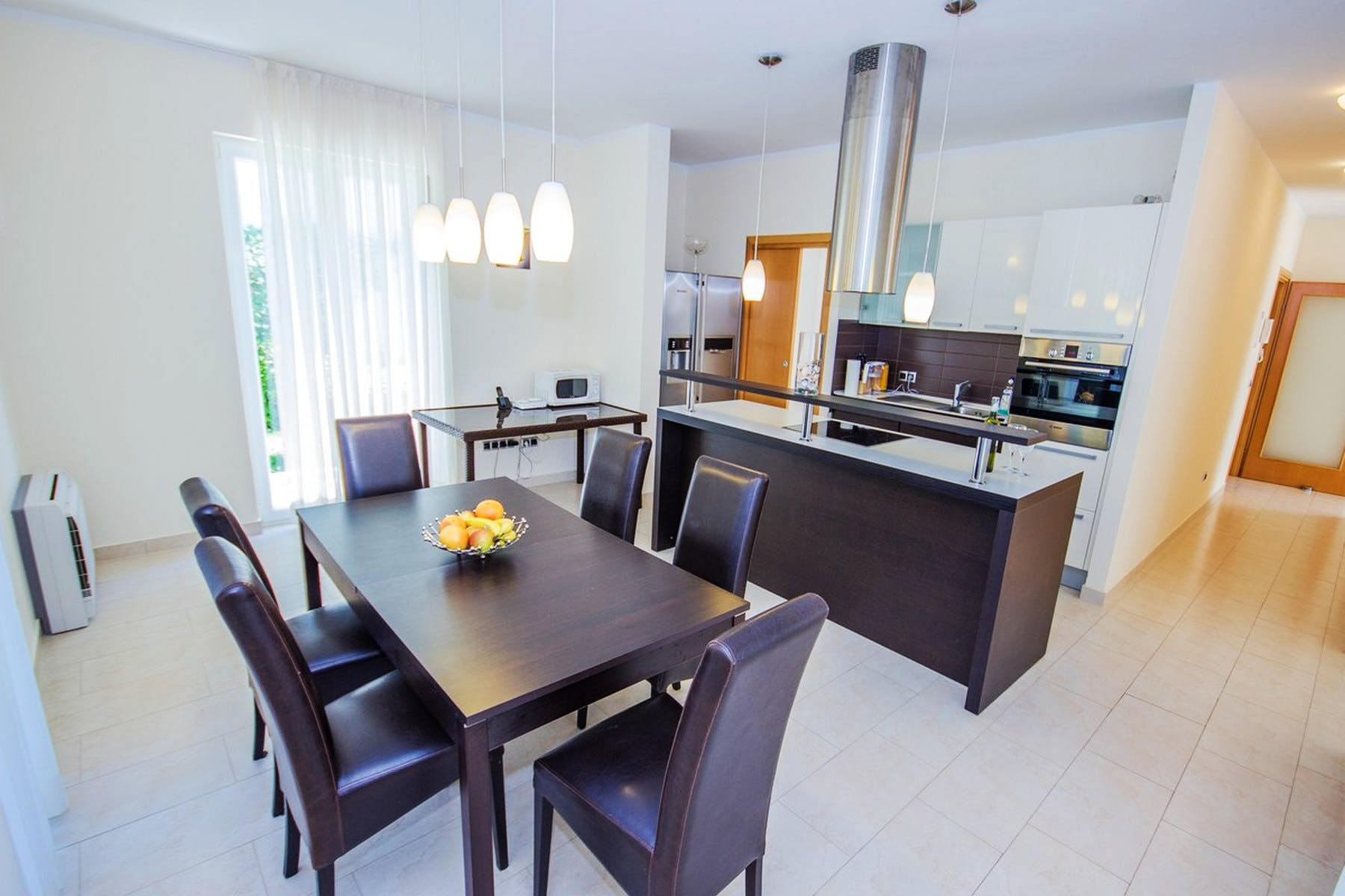 Dining and cooking area