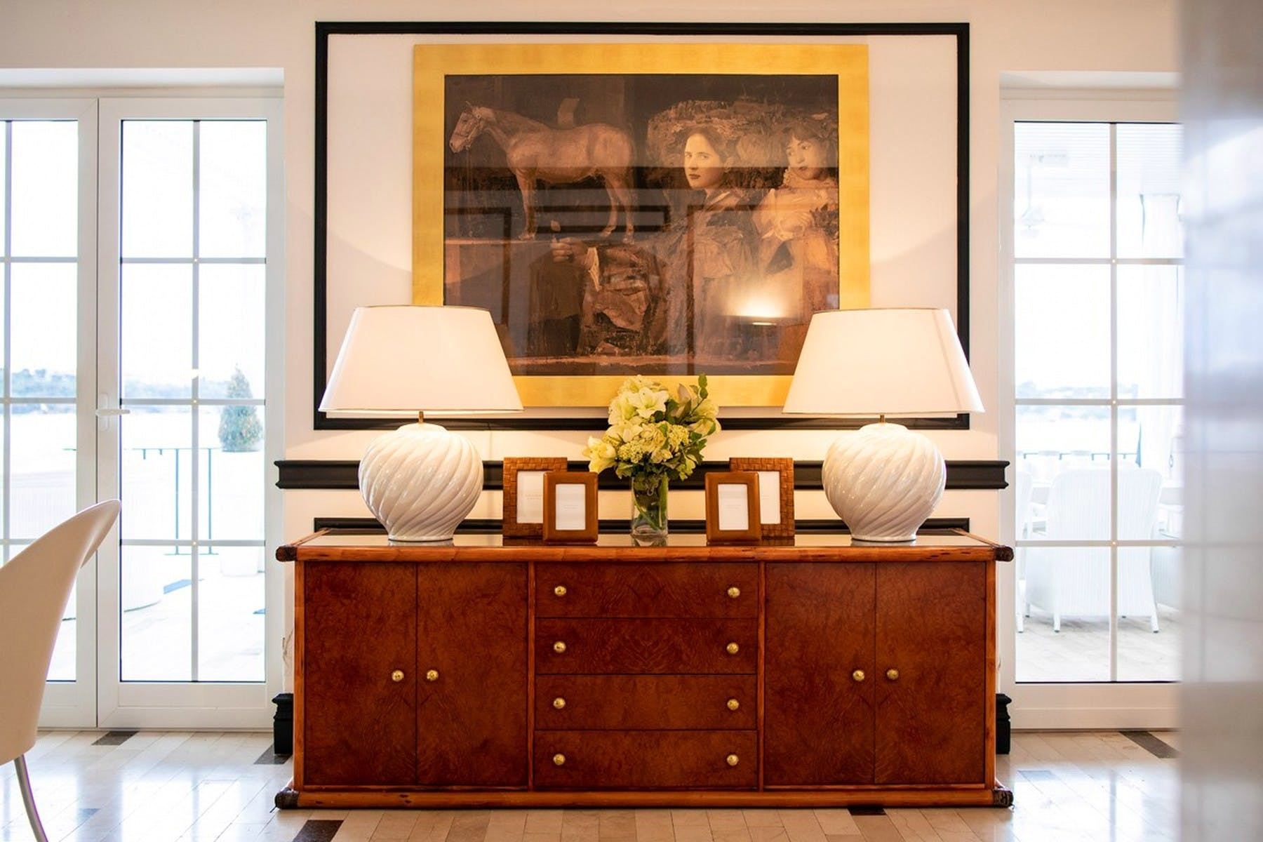 High-quality, antique pieces of furniture