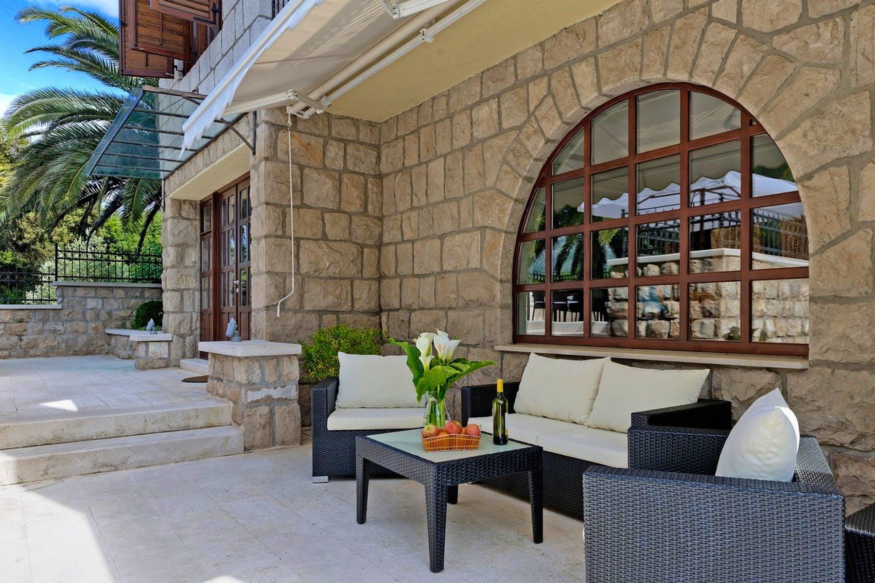 Prostor za sjedenje na terasi