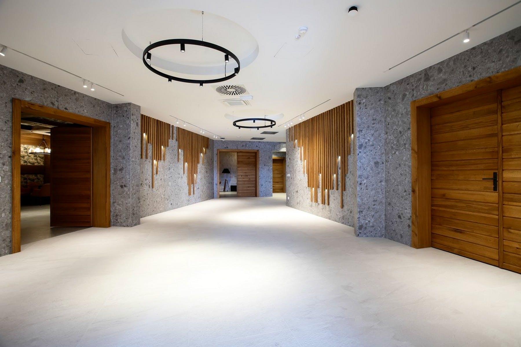 Luxurious halls