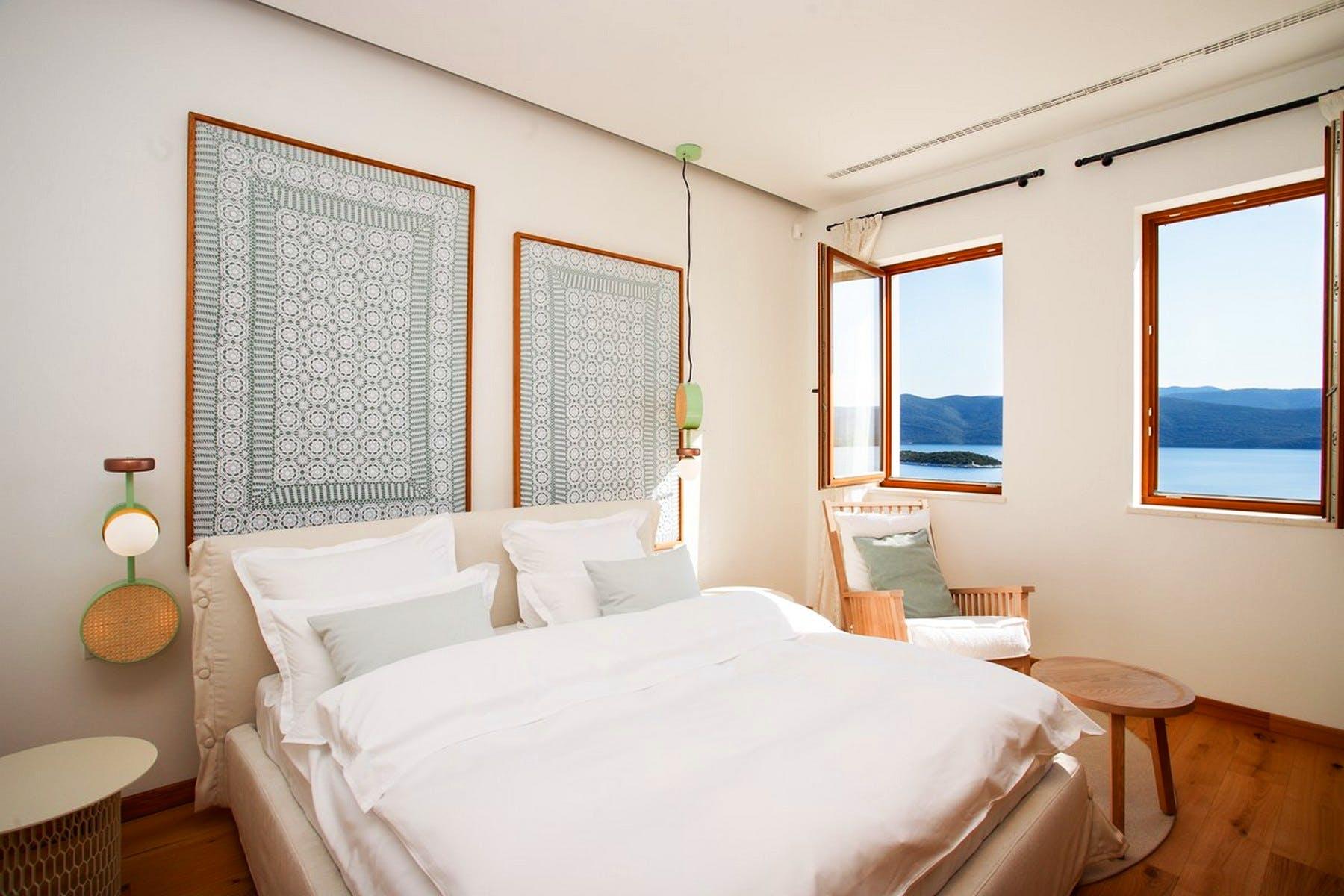 Bright double bedroom