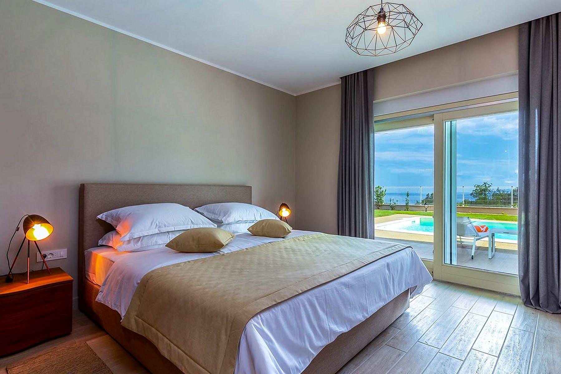 Moderna dvokrevetna spavaća soba