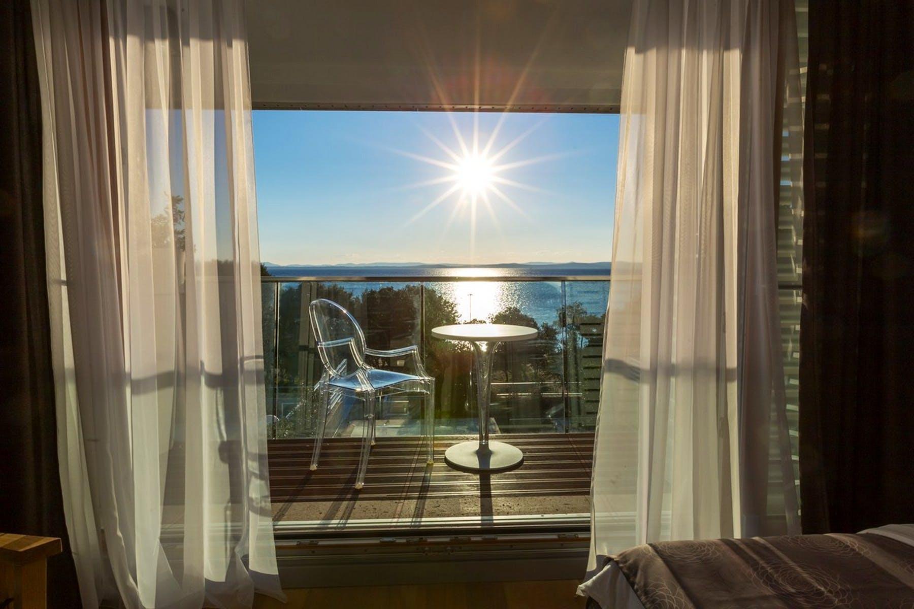 Pogled na more iz vile