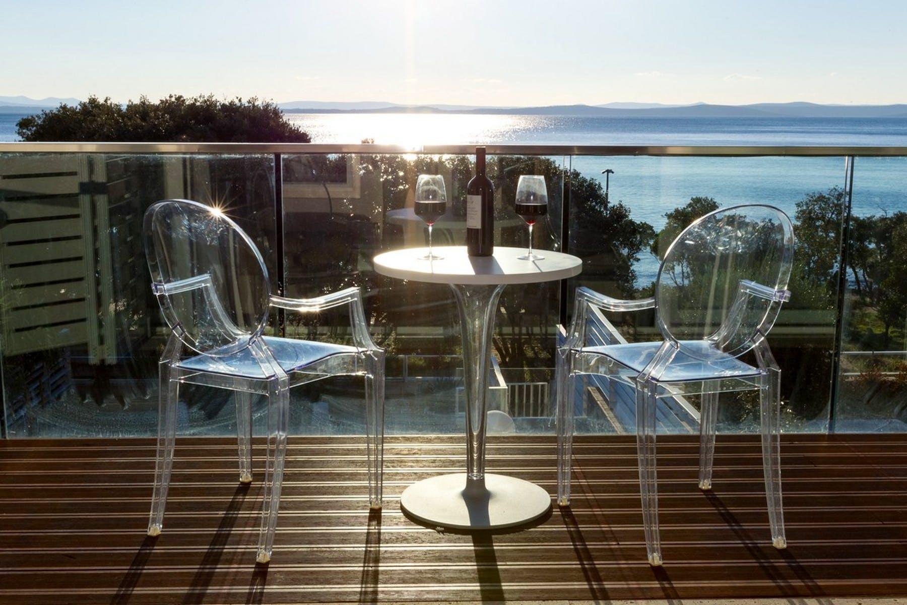 Master bedroom's terrace