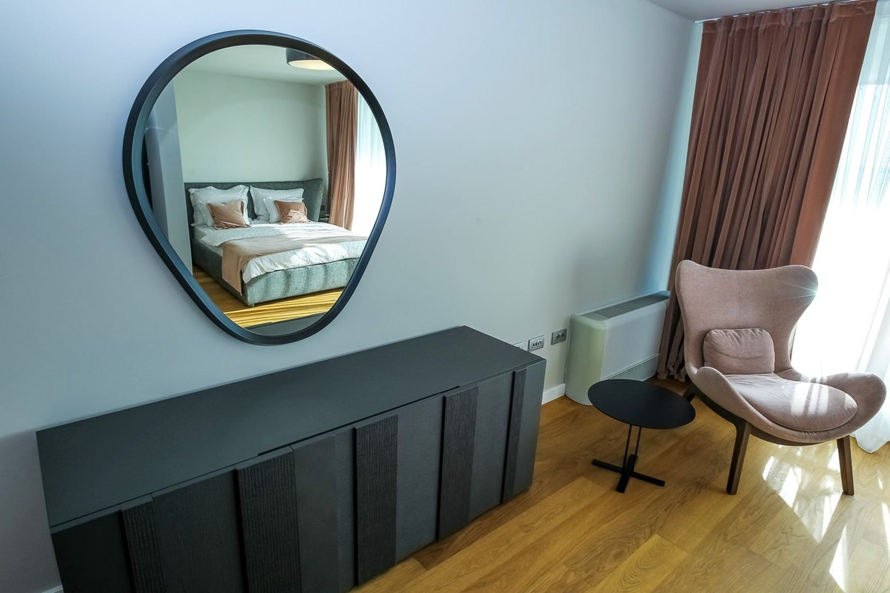 Another angle of the bedroom