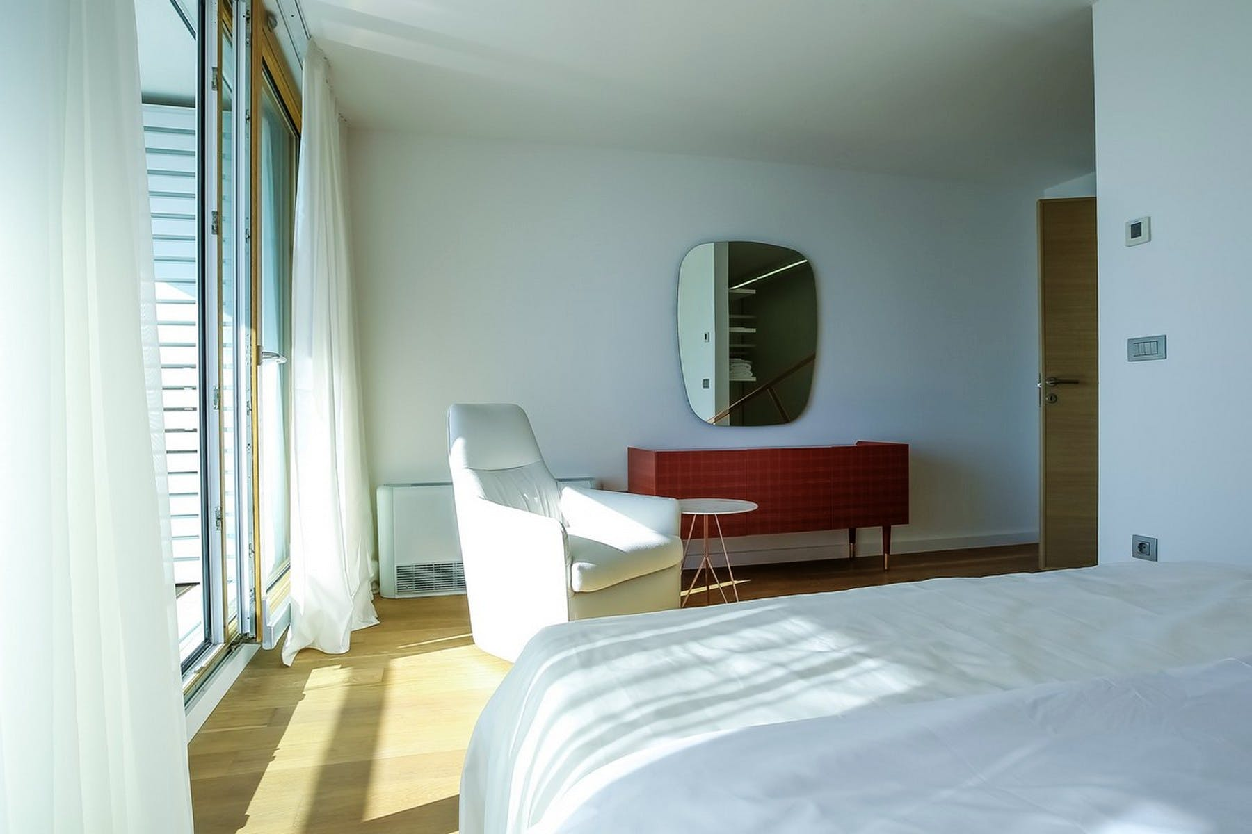 Lots of natural light in the rooms