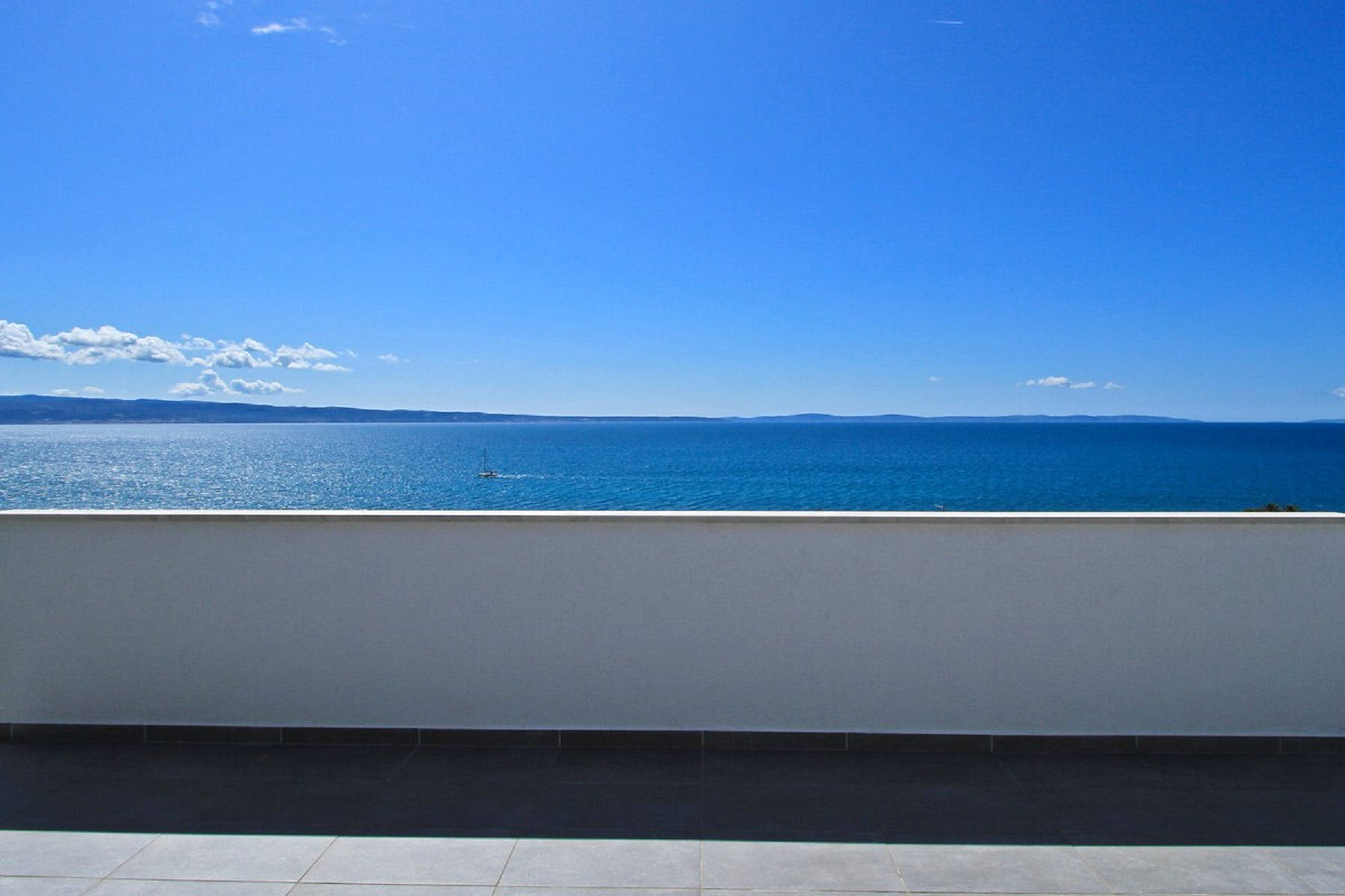 Seaview from the terrace