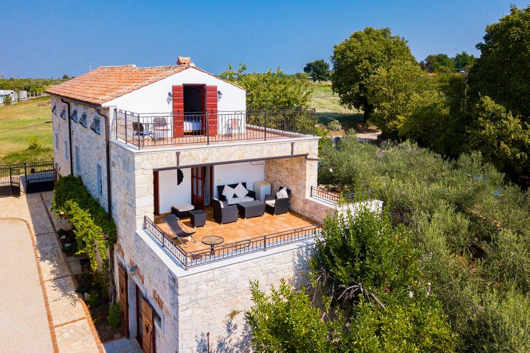 Villa's terraces