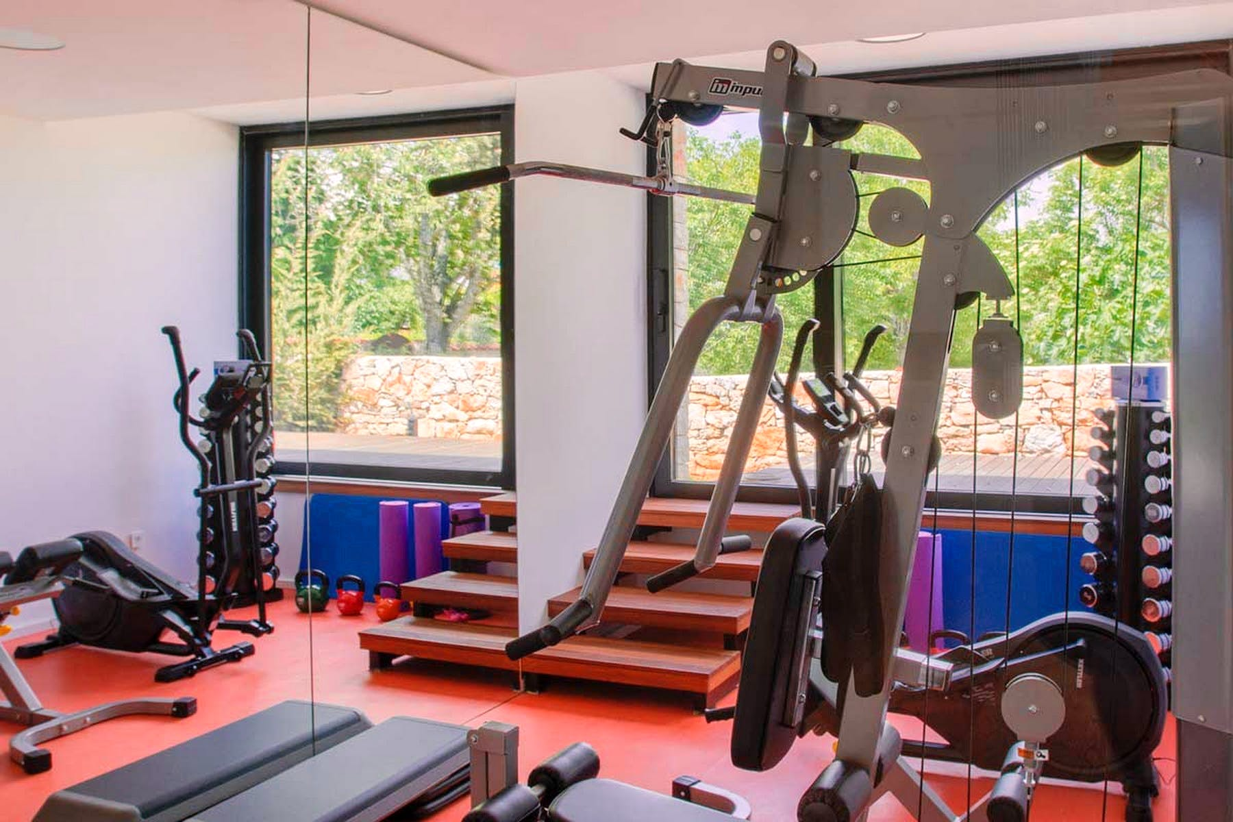 In-house gym