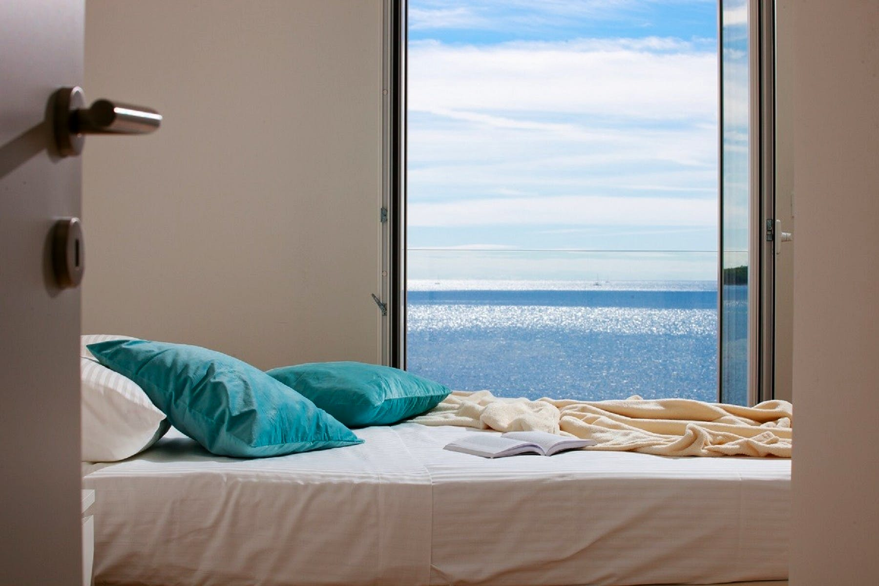 Amazing seaview from the bedroom