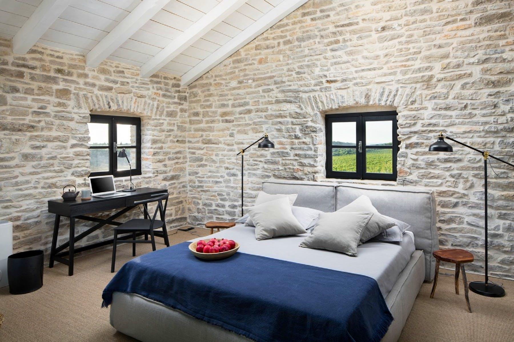 Double bedroom of villa A