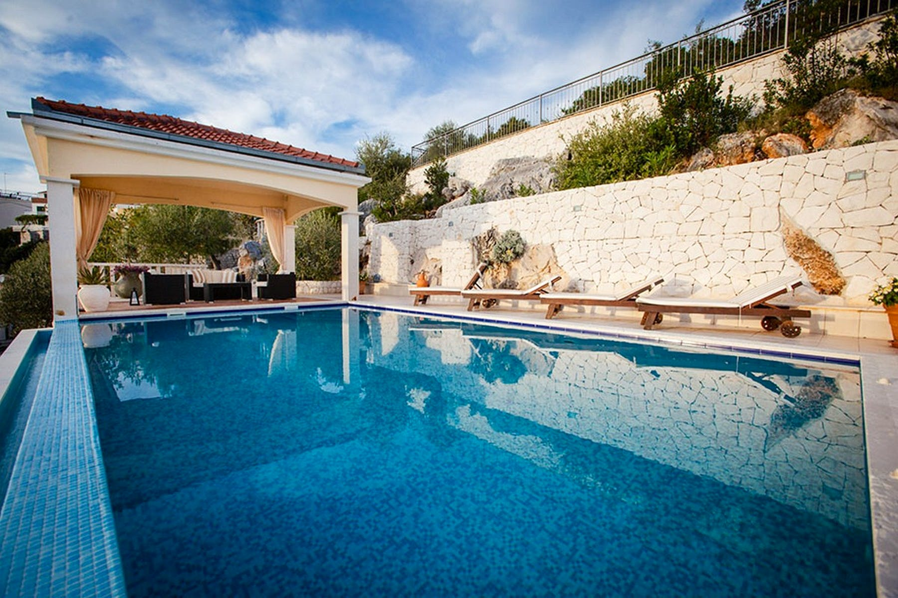 Amazing property with a private pool