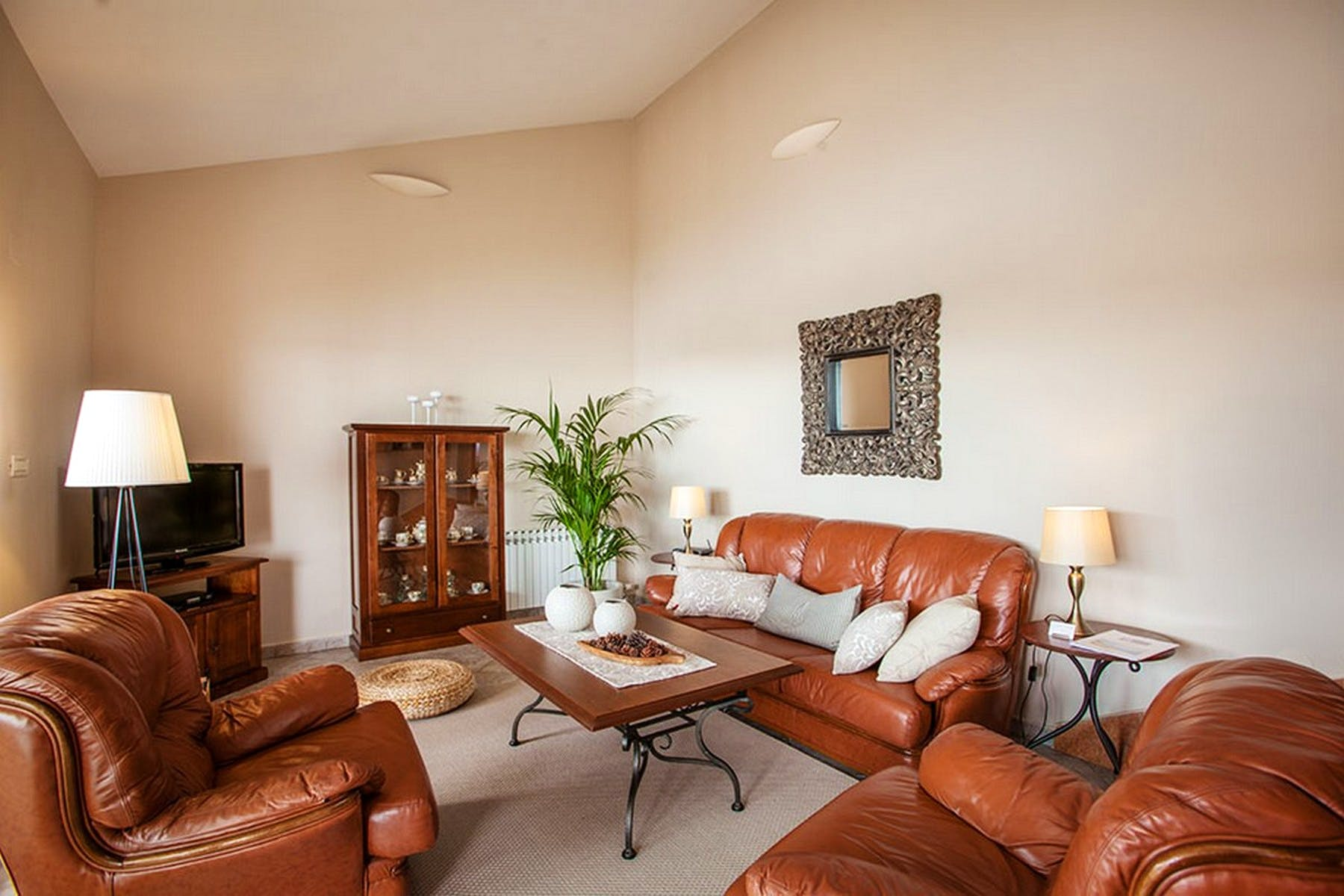 Fully furnished living area
