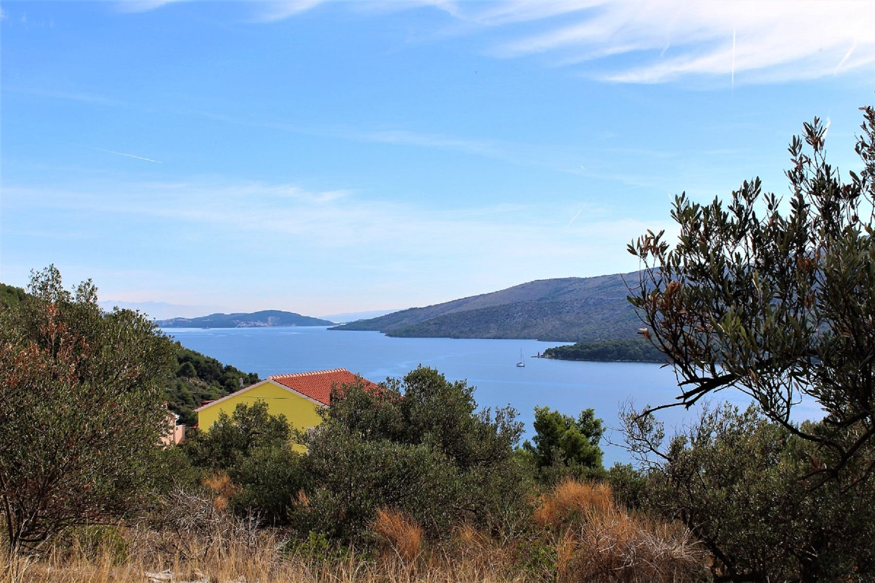 Pogled na more sa zemljišta