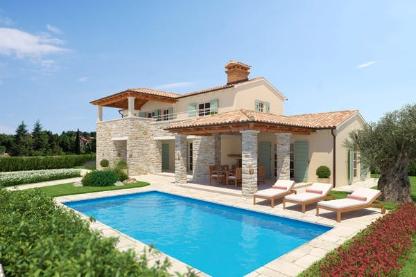 Amazing stone villas