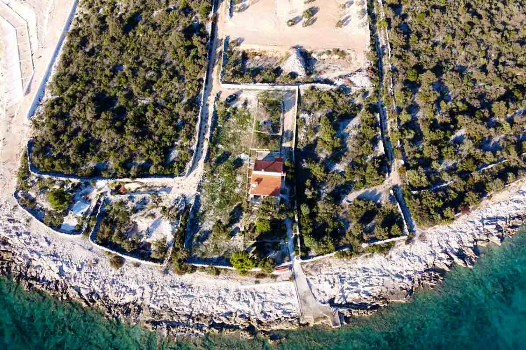 Pogled iz zraka na nekretninu