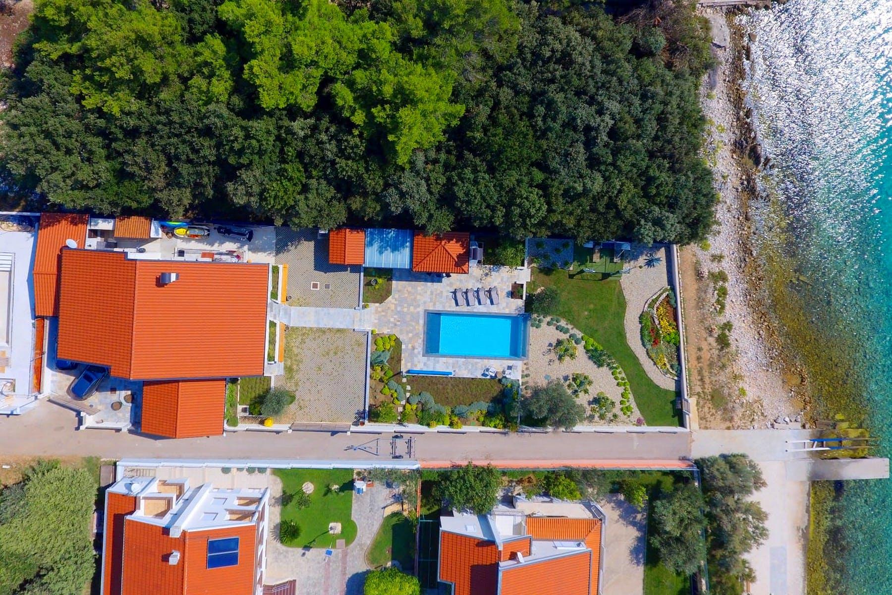 Pogled na nekretninu iz zraka