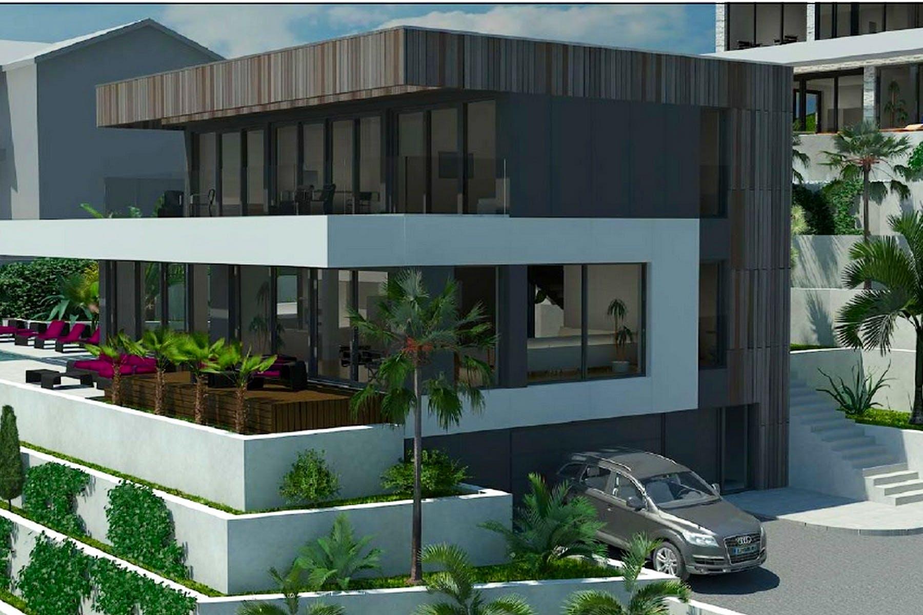 Contemporary project for villa