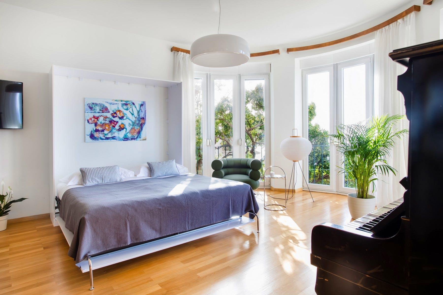 Spavaća soba s pogledom u Dubrovniku