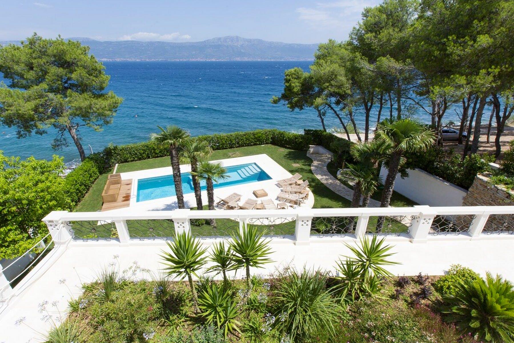 Modern villa with stunning sea view