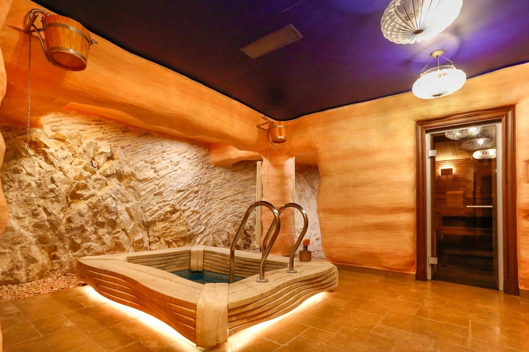 Indoor spa zone