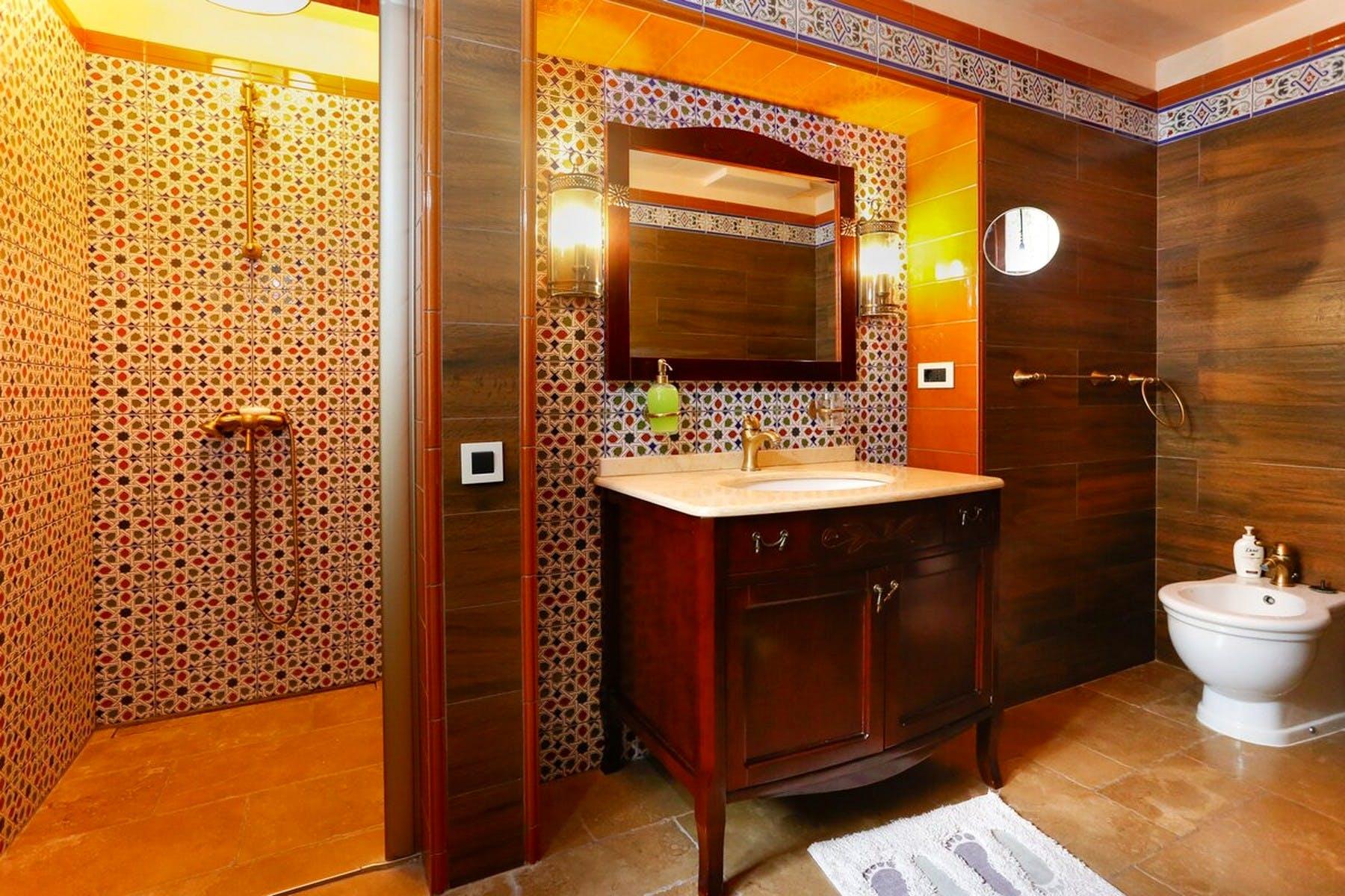 Luxury bathroom area