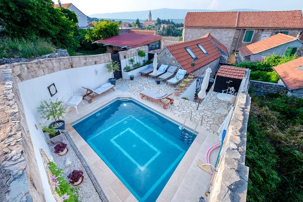 Rustic stone houses for sale on the island of Hvar