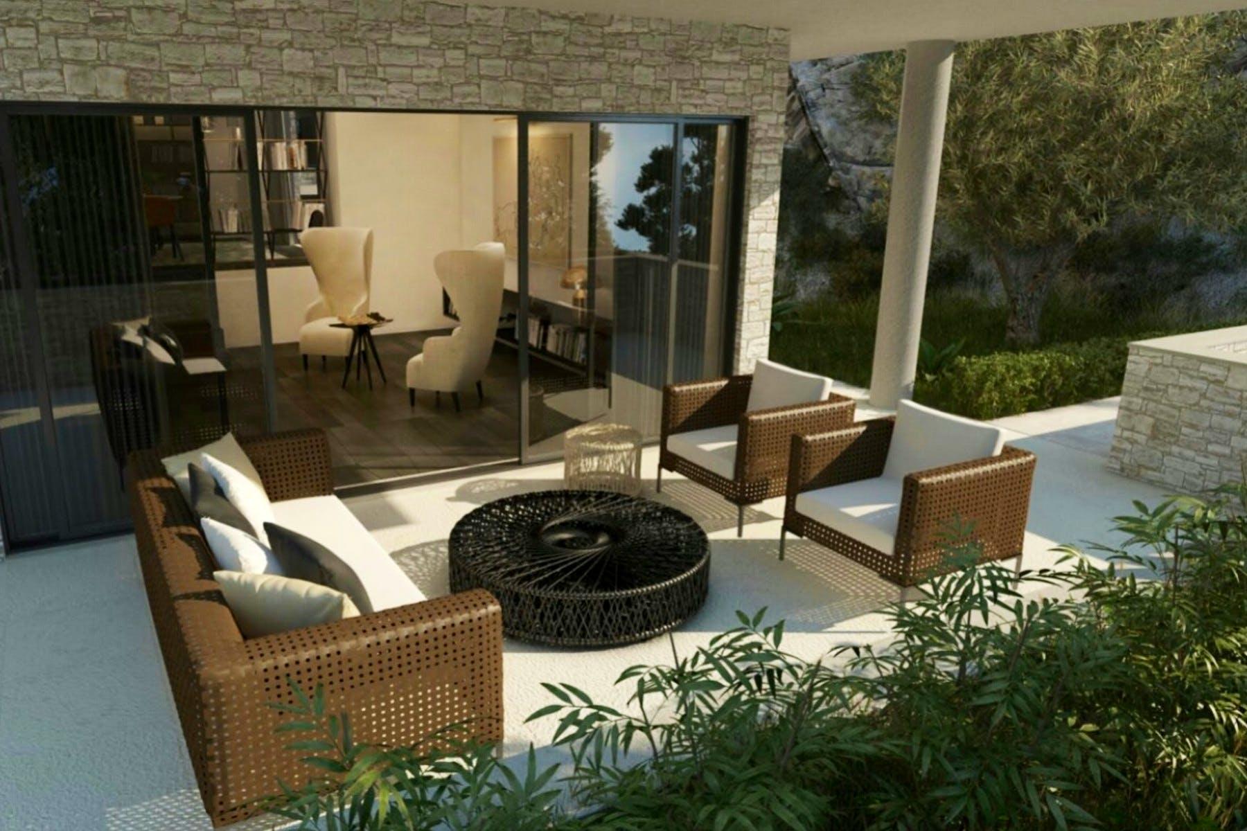 Interior design for a newly built property