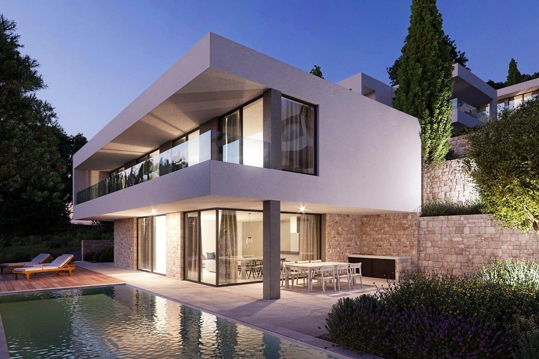 Modern villa with swiming pool