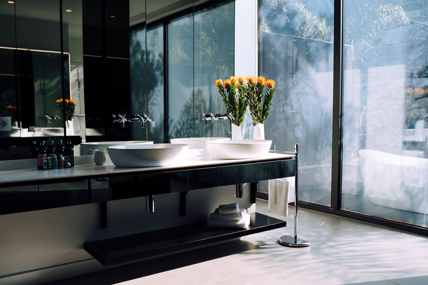 Sophisticated bathroom