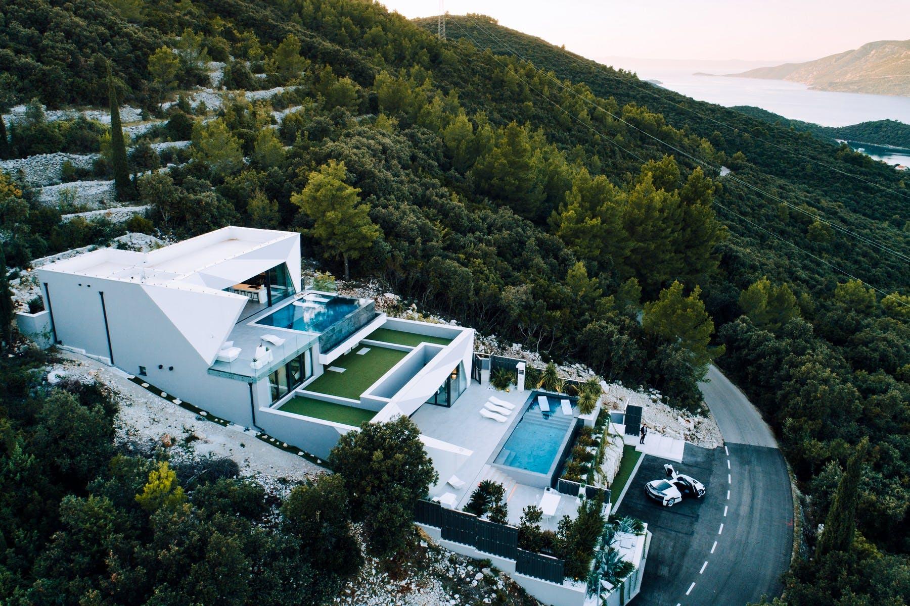 Luxury villa with sea view on Korčula for sale