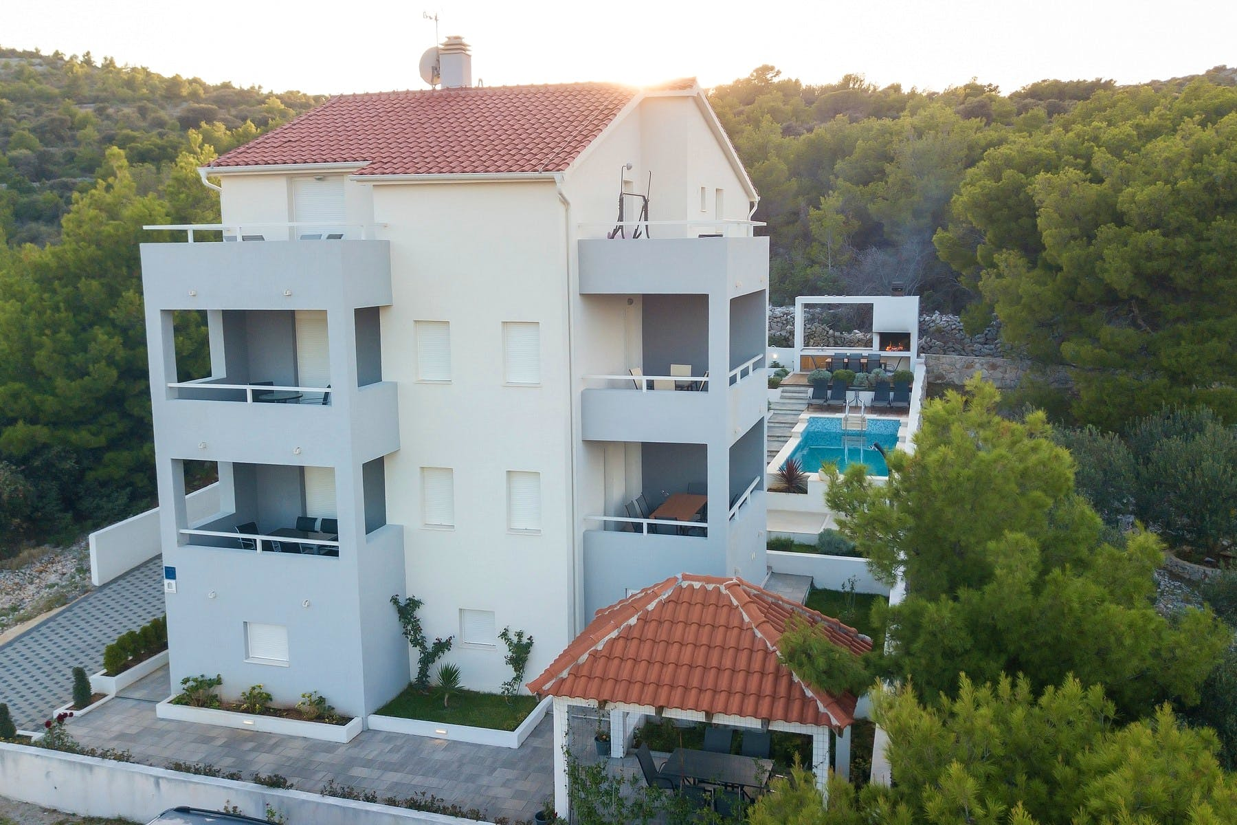 Apartment building for sale in Rogoznica